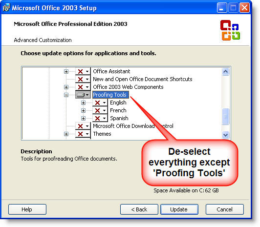 microsoft office 2007 proofing tools romanian
