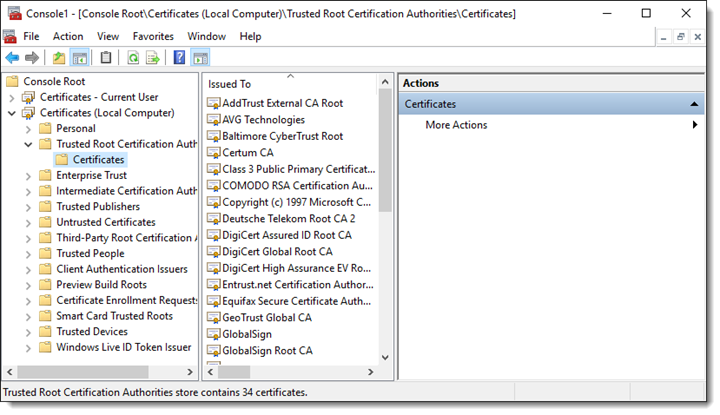 Create and employ a digital certificate with SELFCERT EXE
